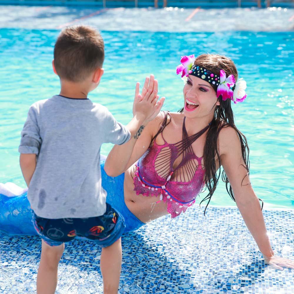 Meerjungfrauen-Kindergeburtstag in Peine
