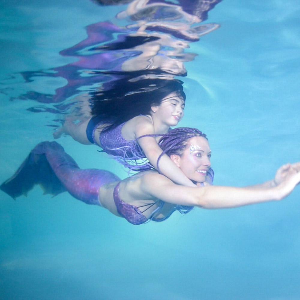 Meerjungfrauen-Pool-Party in Peine
