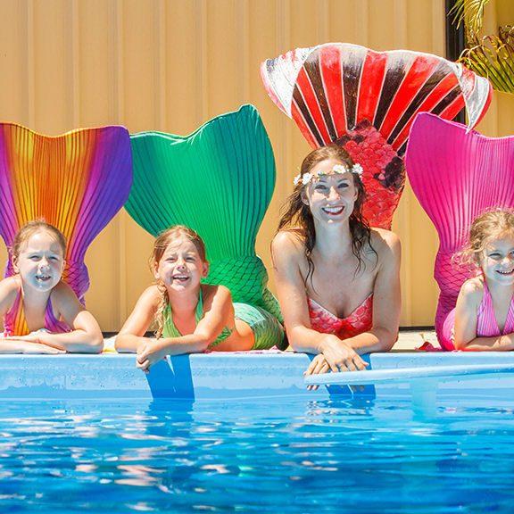 Meerjungfrauenschwimmen bei Hannover und Sarstedt