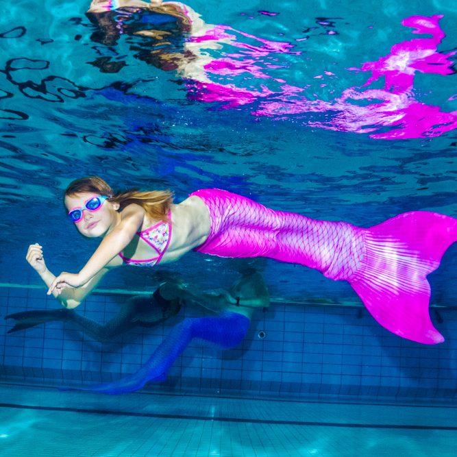 Meerjungfrauenschwimmen in Sarstedt bei Hannover