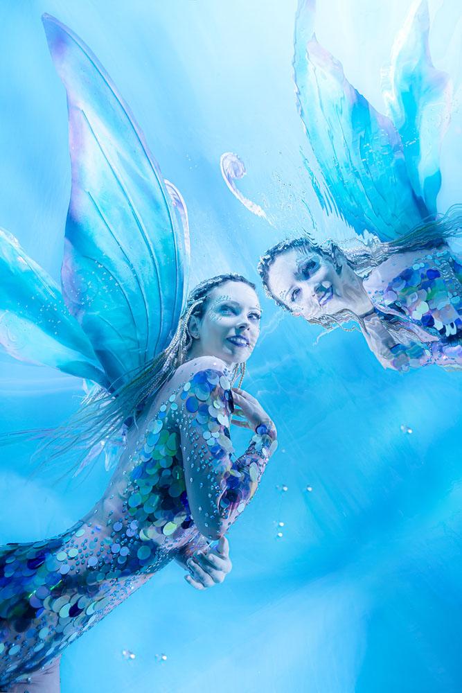 Unterwassershooting buchen in der Mermaid Kat World bei Hildesheim und Braunschweig
